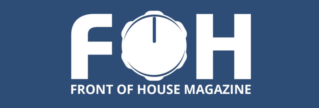 Front of House Magazine logo