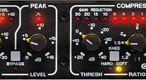 Drawmer Electronics DL441 Quad Auto Compressor Limiter